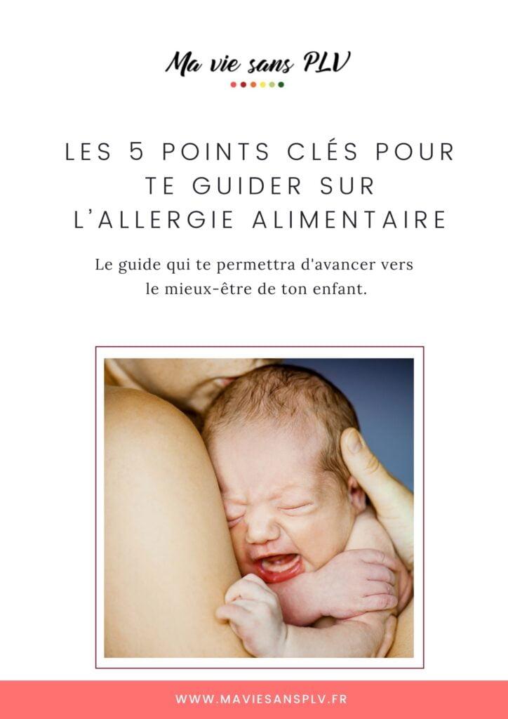 Le book gratuit face aux allergies alimentaires